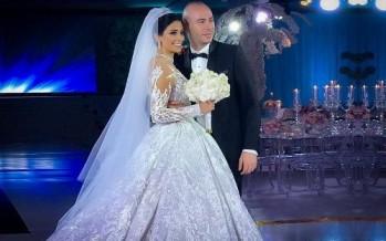 بالصور: رودولف هلال يحتفل بزفافه