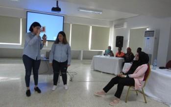 ورشة عمل حول بناء مهارات التواصل واللغة في جمعية المواساة