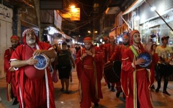 مسرح إسطنبولي يفتتح السوق الرمضاني بكرنفال شارع