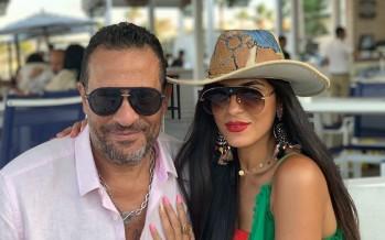 زوجة ماجد المصري تعلن شفاءه وابنته من كورونا