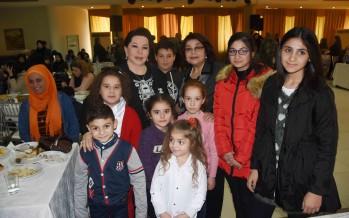 السفيرة الأممية د. سلوى غدار يونس ترعى احتفالين لأطفال الجيش وكاريتاس