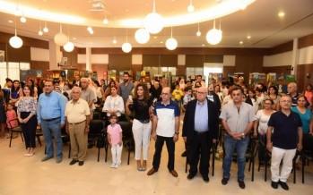 السعودي رعى في بلدية صيدا معرض معهد فن لمواهب وإبداعات طلاب المعهد الأطفال في الموسيقى والرسم والغناء