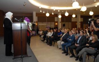 النائب الحريري رعت حفل توقيع كتاب نانسي سليم