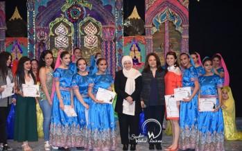 الحفل السنوي لنادي الرقص لطلاب ثانوية الحريري بحضور النائب بهية الحريري وأهالى الطلاب