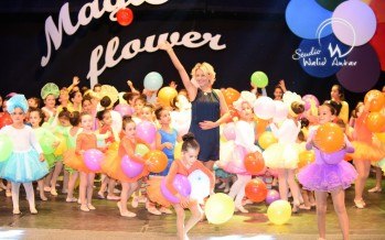 الحفل السنوي لنادي الرقص sigal - قسم الأطفال على مسرح ثانوية رفيق الحريري