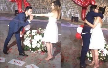 بالفيديو: مفاجأة مذهلة.. طلب يد زميلته خلال تخرجهما من