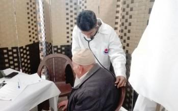 حزب الله وأطباء بلا حدود في إيران نظما يوما صحيا مجانيا في مخيم مية ومية بمناسبة المولد النبوي الشريف