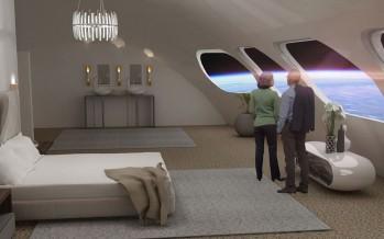 الفضاء يستعد لافتتاح أول فندق