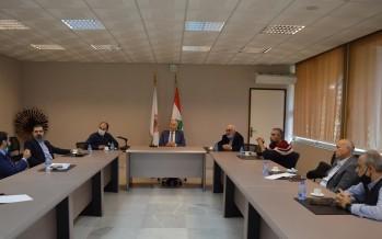 دبوسي يترأس إجتماع عمل: لتنفيذ المشاريع التي تنهض بالوطن من طرابلس الكبرى