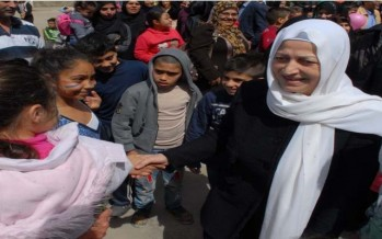 الحريري والسعودي شاركا اطفال المدينة القديمة