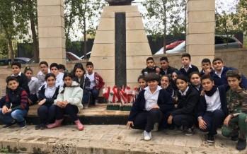مدارس مؤسسة معروف سعد تحتفل بالاستقلال