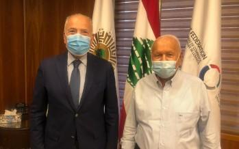 دبوسي إستقبل ذوق: نسعى الى تأمين مصالح لبنان من طرابلس الكبرى