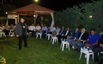 الدكتور خليفة يقيم حفل عشاء على شرف النائب عسيران في الغازية