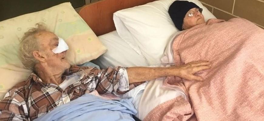 قطع لها وعداً بأن يحبّها إلى الأبد.. لمّ شمل رجل مسنّ وزوجته للمرة الأخيرة قبل وفاته