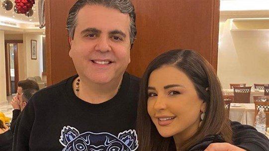 جمال سنان لزوجته ماغي بو غصن: